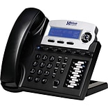 Xblue® X16 6-Line Backlit Digital Telephone, Charcoal
