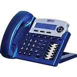 Xblue® X16 6-Line Backlit Digital Telephone, Vivid Blue
