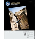 HP 8-1/2x11 Advanced Glossy Photo Paper