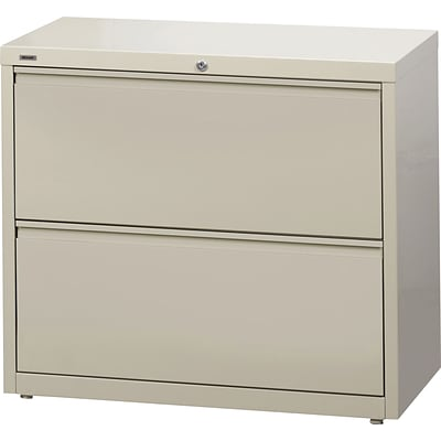 Gentil 2 Drawer Lateral File Cabinets, Putty, 36 Wide (17703)