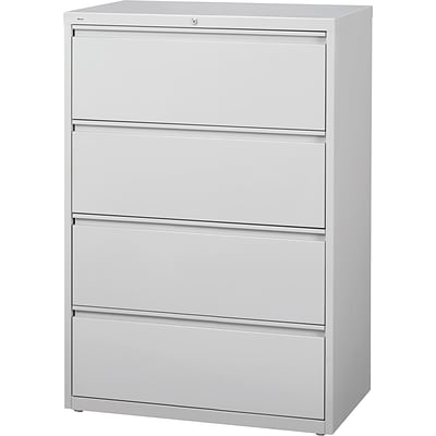 Ordinaire HL8000 HIRH 4 Drawer Lateral File Cabinet, Gray, 36 Wide (17708)