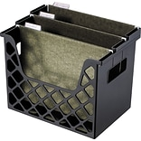 Recycled Desktop File Organzier, Black