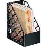Diversity Products Solutions by Staples® Recycled Large Magazine File, Black, 11 3/4H x 6 1/8W x 9