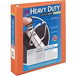 Avery® Heavy-Duty View Binder with One Touch™ EZD® Rings; 3, Orange