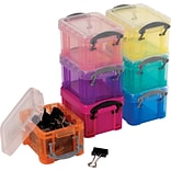 Really Useful Box® 0.14 litre Really Useful Box, Assorted