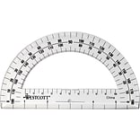 Westcott® Clear Plastic Protractor