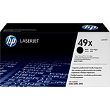 HP 49X Black Toner Cartridge, High Yield (Q5949X)
