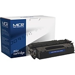 MICR Black Toner Cartridge Compatible with HP 53X (Q7553X); High Yield