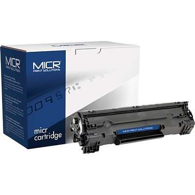 MICR 36A MICR Cartridge, Black (MCR36AM)