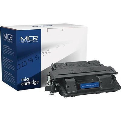 MICR Black Toner Cartridge Compatible with HP 27X (C4127X), High Yield