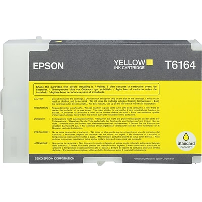 Epson T6164 Yellow Ink Cartridge (T616400)