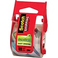 Scotch High-Performance Sure-Start Packing Tape, 1.88 x 22.2 yds, Clear, 6/Pack