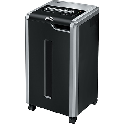 Fellowes Powershred C-325i 3830001 24-Sheet Strip-Cut Shredder, Black