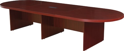 "Regency® Legacy Oval Conference Room Tables, Mahogany, 144""W"