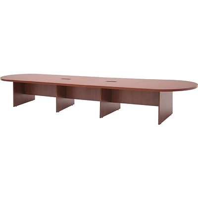 Regency® Legacy Oval Conference Room Tables, Cherry, 192W