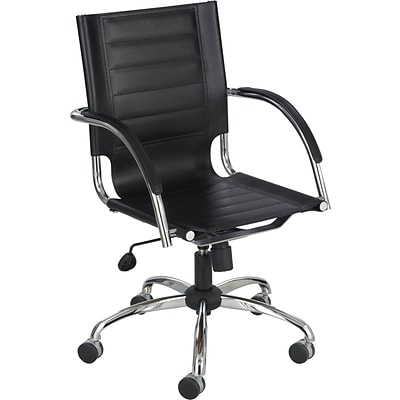 Safco 3456BL Managers Chair, Black