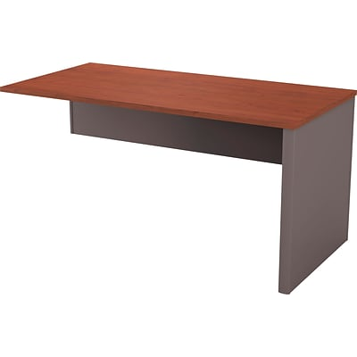 Bestar® Connexion Collection in Bordeaux and Slate, Return Table