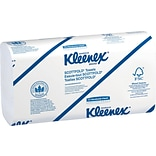 Kleenex® Scottfold™ Paper Towels, 1-Ply, White, 120 Towels/Pack, 25 Packs/Carton (13254)