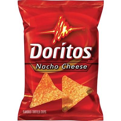 Frito Lay Doritos Nacho Cheese Chips 1 75 Oz 64 Bags