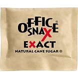 Office Snax® Natural Sugar Packets, 2,000/Ct