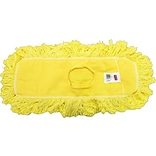 Rubbermaid Commercial Trapper Dust Mop Head Yellow