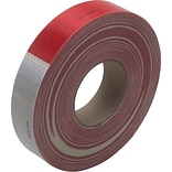 3M™ #983 Reflective Tape, Red/White, 2 x 150, Each