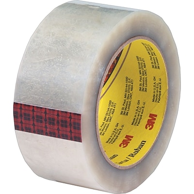 Scotch® #355 Hot Melt Packing Tape, 2 x 55 Yards, Clear, 6/Pack