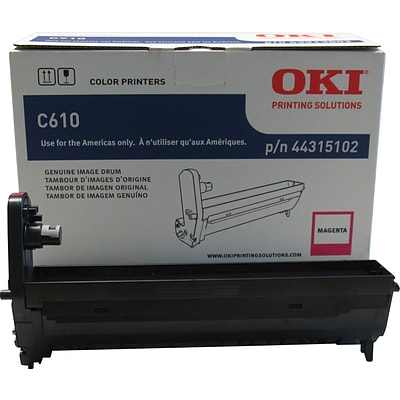 OKI® 44315102 Laser Drum Cartridge, Magenta