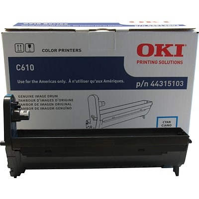 OKI® 44315103 Laser Drum Cartridge, Cyan