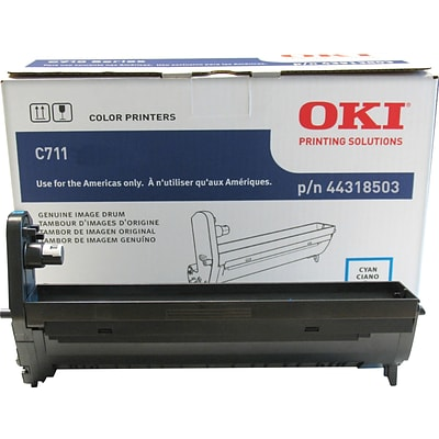 OKI® 44318503 Laser Drum Cartridge, Cyan
