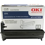 OKI® 44318504 Laser Drum Cartridge; Black