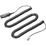 Plantronics® 72442-41 Quick Disconnect/Male Phone Audio Cable Adapter