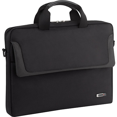 Solo® Laptop Slim Attache 14.1