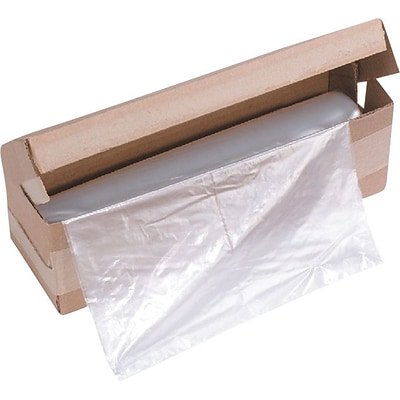 HSM1408 Shredder Bags, 100/roll