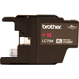 Brother Ink Cartridge; Magenta, High Yield (LC75MS)