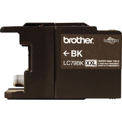 Brother Genuine LC79BK Black Super High Yield Original Ink Cartridge