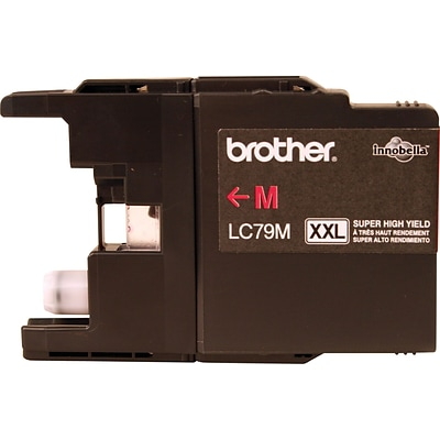 Brother Genuine LC79M Magenta Super High Yield Original Ink Cartridge