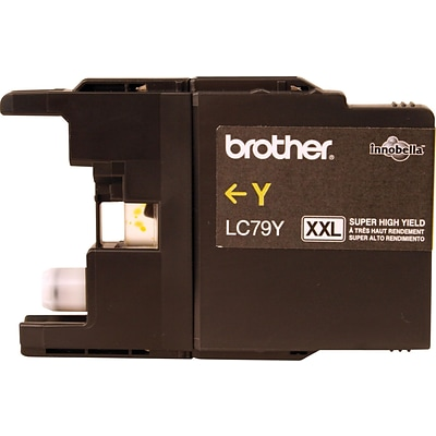 Brother Genuine LC79Y Yellow Super High Yield Original Ink Cartridge
