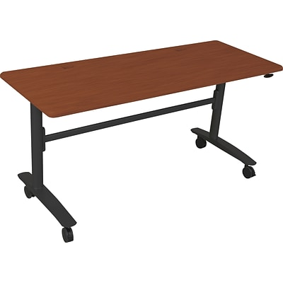 Balt Lumina™ 72 Rectangular Flipper Table, Cherry