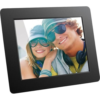 Aluratek High-Resolution Digital Picture Frame,  8