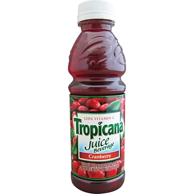 Tropicana® Cranberry Juice, 10 oz. Bottles, 24/Case