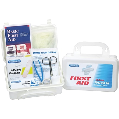 PhysiciansCARE® First Aid Kits, 113-Piece