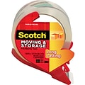 Scotch Long Lasting Moving & Storage Packing Tape with Refillable Dispenser, 1.88 x 38.2 yds, Clear
