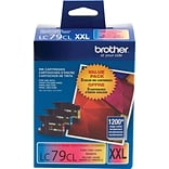 Brother Genuine LC793PKS Cyan, Magenta, Yellow Super High Yield Original Ink Cartridges Multi-pack (