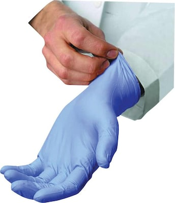 Ambitex Gloves Nitrile Sm Blu Powder 1000ct