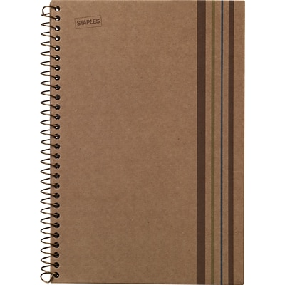 Sustainable Earth Wirebound Notebook, 5 Subject, 8-1/2 x 11