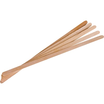 Eco-Products® Wood, Stirrers, Brown, 1,000/PK