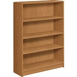 HON® Harvest 4-Shelf Radius-Edge Bookcase