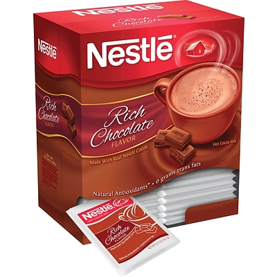Nestle® Hot Cocoa Mix, Rich Chocolate, .71 oz., 50 Packets