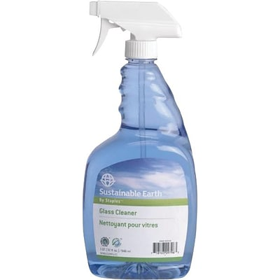 Sustainable Earth Glass Cleaner, Ready To Use, 32 Oz., 12/Ct